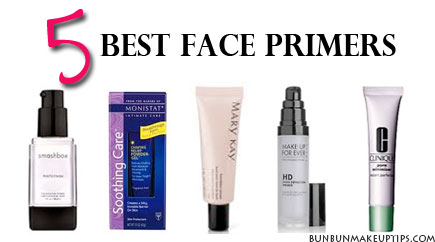 5 Best Face Makeup Primers For Oily Skin