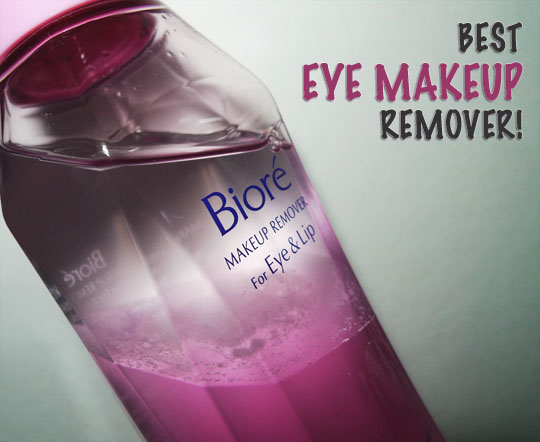 How To Remove Stubborn Waterproof Eye Makeup Without Tearing Your Skin – Biore Makeup Remover For Eye & Lip Review
