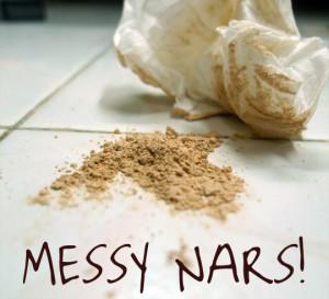 Transfer NARS Loose Powder To Sifter Jar_9.1