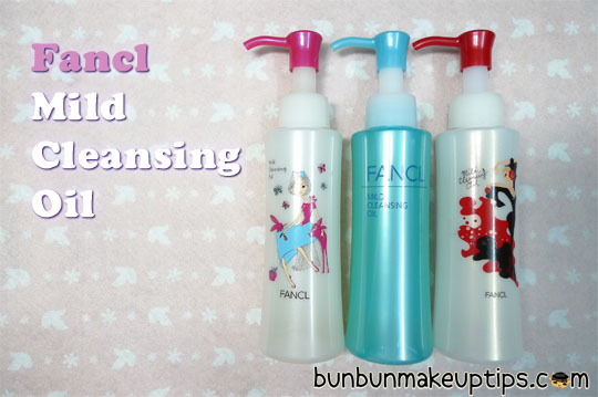 Best makeup remover_Fancl Mild Cleansing Oil