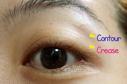 Tutorial where to apply contour eyeshadow color on an asian eye see that ccuart Gallery