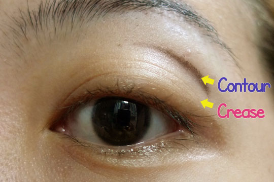 Tutorial where to apply contour eyeshadow color on an asian eye i ccuart Gallery