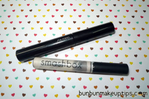 Smashbox Lash Primer vs Shiseido Nourishing Mascara Base_2