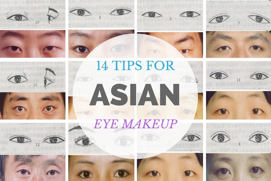 Types of Asian-Chinese eyes MAKEUP TIPS
