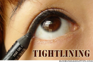 Eye Makeup Tutorial - Tightlining for thicker lashes and bigger eyes_1.4
