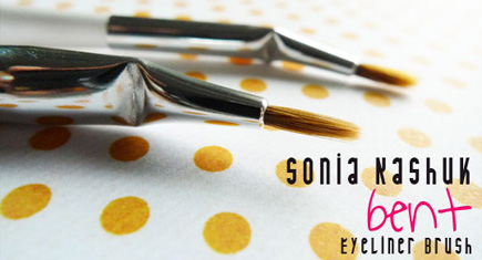 Sonia Kashuk Bent Eyeliner Brush Review and Comparison_Featured Image
