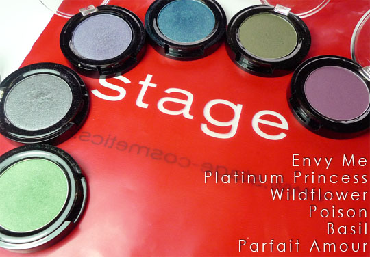 Stage eyeshadows_ParfaitAmour-Wildflower-PlatinumPrincess-Basil-Poison-EnvyMe_4