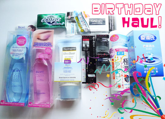 Watsons Birthday Haul_1