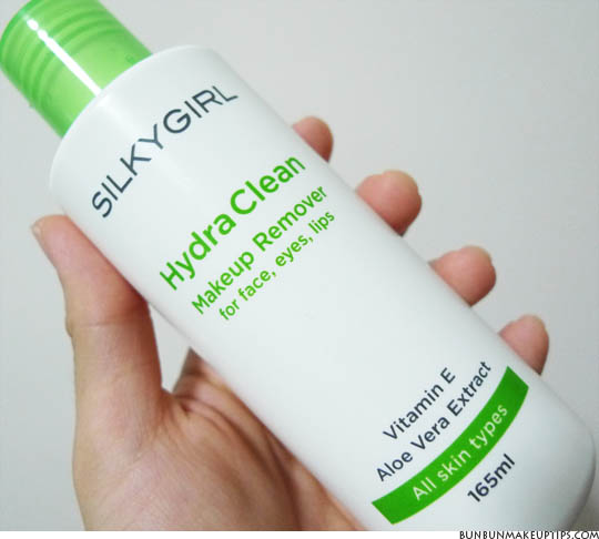Silkygirl Hydra Clean Makeup Remover_1