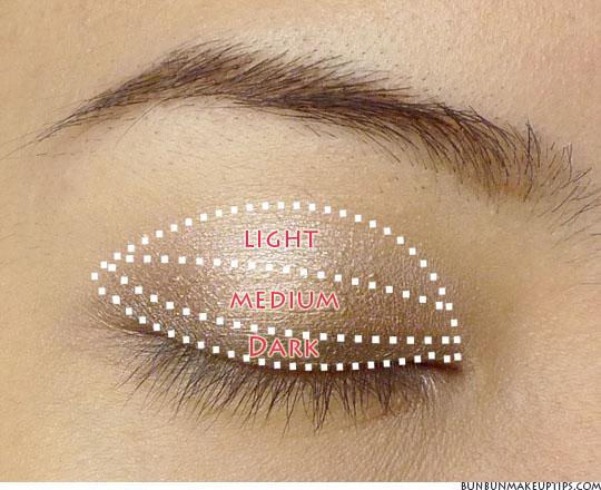 eyeshadow tutorials for asian eyes part 2 vertical gradient method