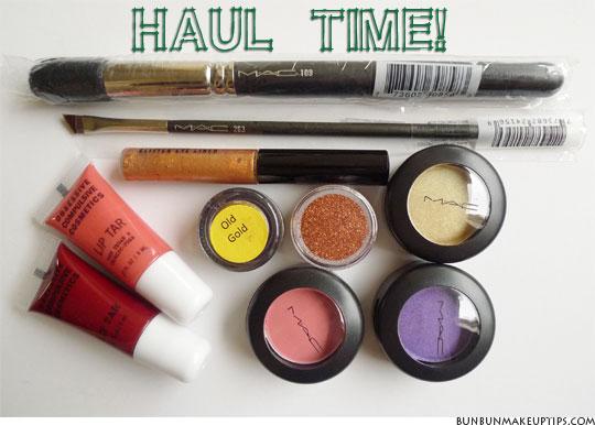 Makeup-Haul-OCC-Lip-Tar-Strutter,-OCC-Lip-Tar-Grandma,-MAC-109,-MAC-263,-MAC-Glitter-Eye-Liner,-MAC-Old-Gold,-MAC-Copper-Sparkle,-MAC-Free-To-Be,-MAC-Parfait-Amour,-MAC-Gorgeous-Gold