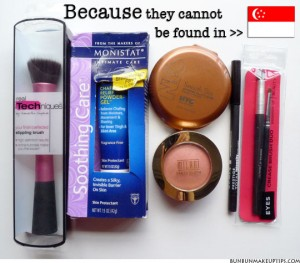 Makeup-Haul_Real-Techniques,-Milani,--Monistat,-Prestige,-Essence-of-Beauty,-NYC_