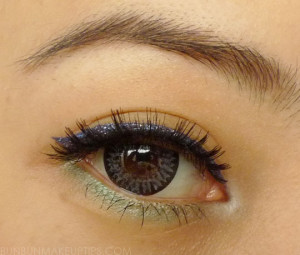 Makeup-Look_Bourjois-glitter-liner,-Sugarpill-midori,-Sugarpill-tako,-false-lashes