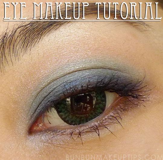 Eye-Makeup-Tutorial-Kat-Von-Beethoven-Speed-Blue,-NYX-Irises,-The-Face-Shop-Eyeshadow-PK-103,-Urban-Decay-Hustle,-NYX-White-Pearl
