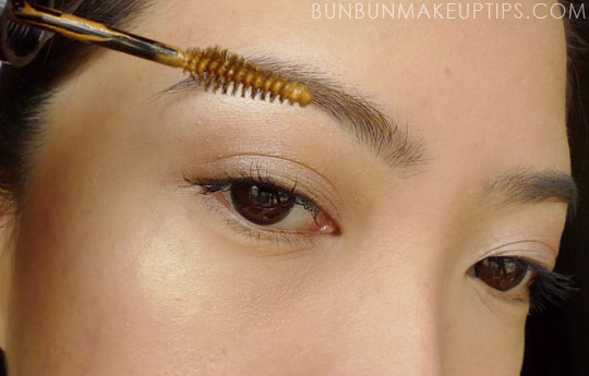 How To Lighten Your Brows With Kate Eyebrow Color Mascara