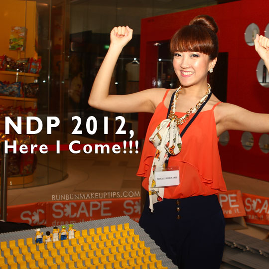 I'm Involved In Singapore NDP 2012!
