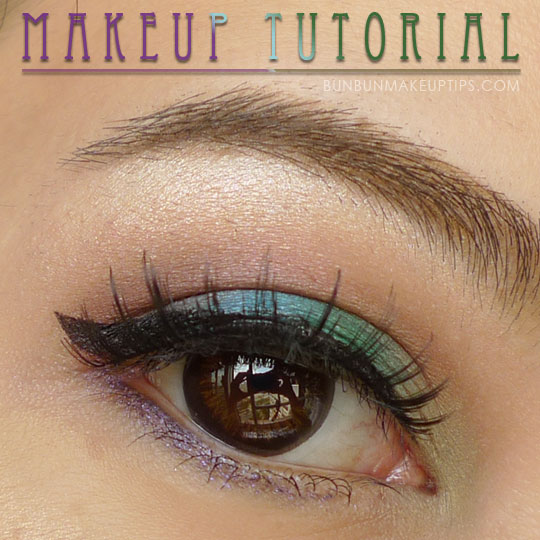 Makeup Tutorial: Purple, Blue, Green, Yellow… And Some Shyness