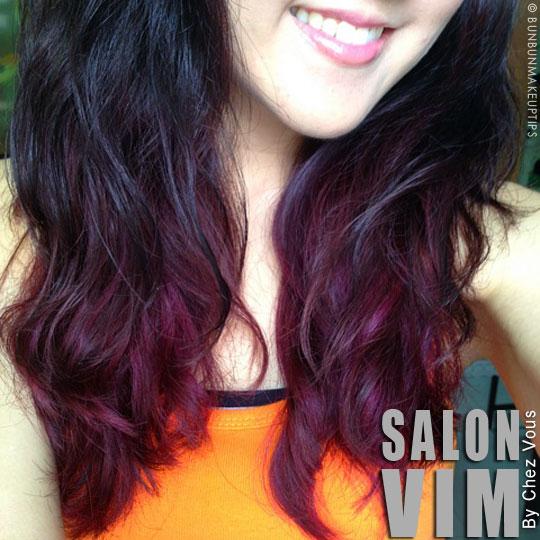 Gallery for dark maroon ombre hair - Ombre hair marron ...