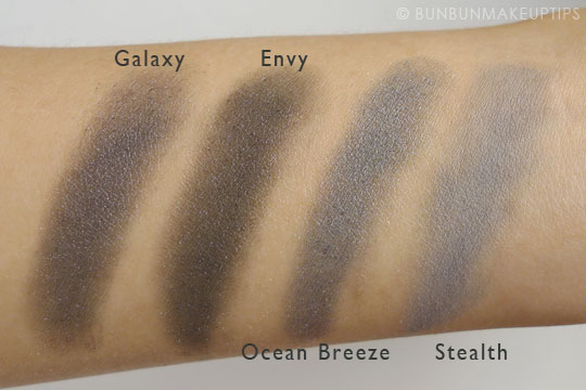 MUG-Makeup-Geek-Eyeshadows-Comparison-Galaxy-Envy-Ocean-Breeze-Stealth-Swatch