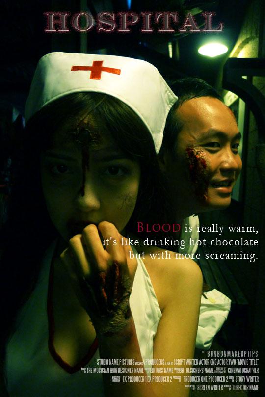 Halloween-Zombie-Dead-Nurse-Costume-Sentosa-Horror-movie-poster