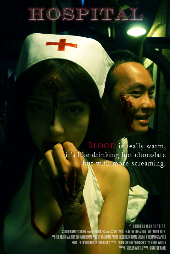 Halloween-Zombie-Dead-Nurse-Costume-Sentosa-Horror-movie-poster