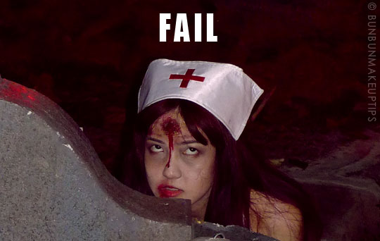 Halloween-Zombie-Nurse-Costume-Makeup-12