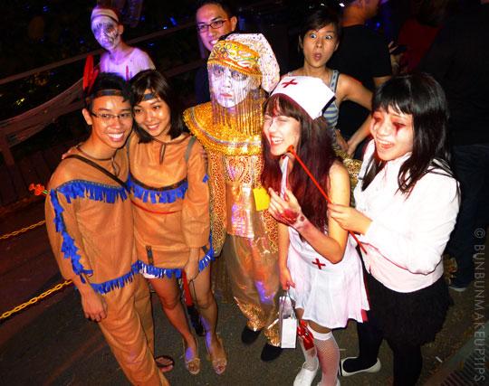 Halloween-Zombie-Nurse-Red-Indian-Goth-Costume-Makeup-25