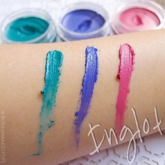 Inglot-Gel-Liner-72-82-87-Review-Photos-Swatches