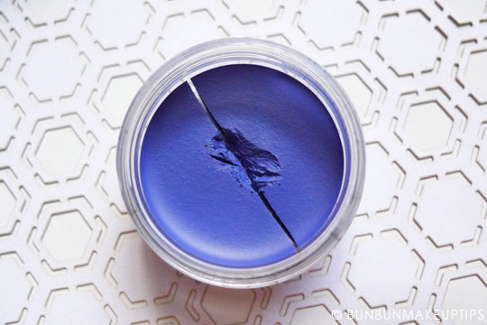 Inglot-Gel-Liner-82-Periwinkle-Review-Photos-Swatches