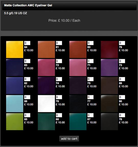 Inglot-Website-Gel-Liner-Shades-Online-Order-UK