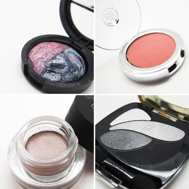 Bun-Bun-Makeup-Tips-Blog-Anniversary-2-Giveaway_Laura-Geller-Baked-Marble-Eyeshadow_The-Body-Shop-All-In-One-Cheek-Colour_MeMeMe-Rich-Colour-Eye-Defining-Cream---Willow-Whisper-5_LOreal-Les-Ombres-Color-Riche-Eyeshadow-Palette