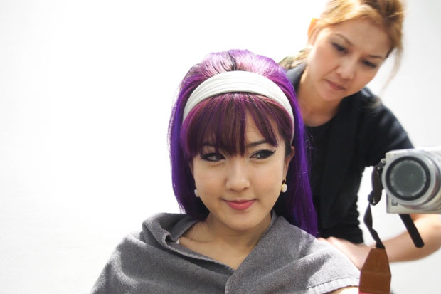 Nuffnang-Birthday-Bash-6_Salon-Vim-Purple-Hair-Retro-60's_1