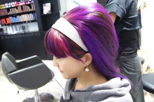 Nuffnang-Birthday-Bash-6_Salon-Vim-Purple-Hair-Retro-60's_3