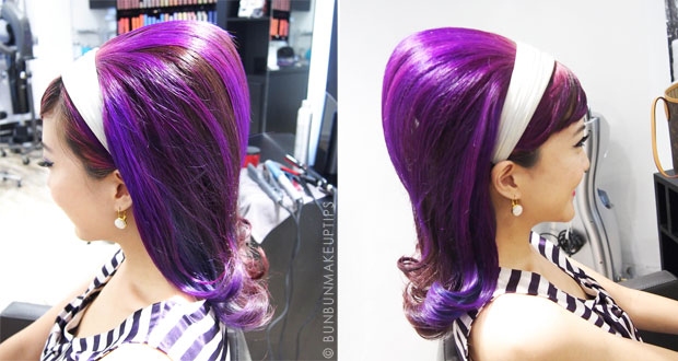 Nuffnang-Birthday-Bash-6_Salon-Vim-Purple-Hair-Retro-60's_7