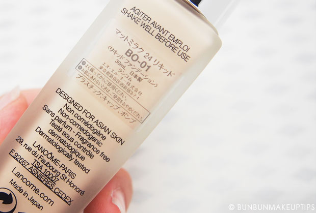 Lancome-Mat-Miracle-24H-Foundation-BO-01-Review,-Swatches,-Photos-7
