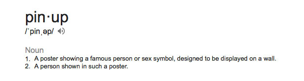 pinup-meaning-definition