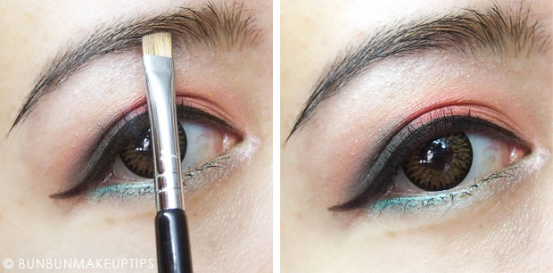 Step By Step Eye Makeup Tutorial Because I Can T Show My Face Yet B For Bun Bun