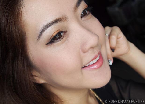 Makeup-Tutorial--Golden-Orange-Eyes-&-Lips-and-Kerastase-Hair-Products_1