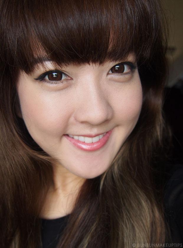 Makeup-Tutorial--Golden-Orange-Eyes-&-Lips-and-Kerastase-Hair-Products_2