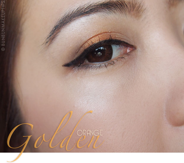 Makeup-Tutorial--Golden-Orange-Eyes-&-Lips-and-Kerastase-Hair-Products_cover-2