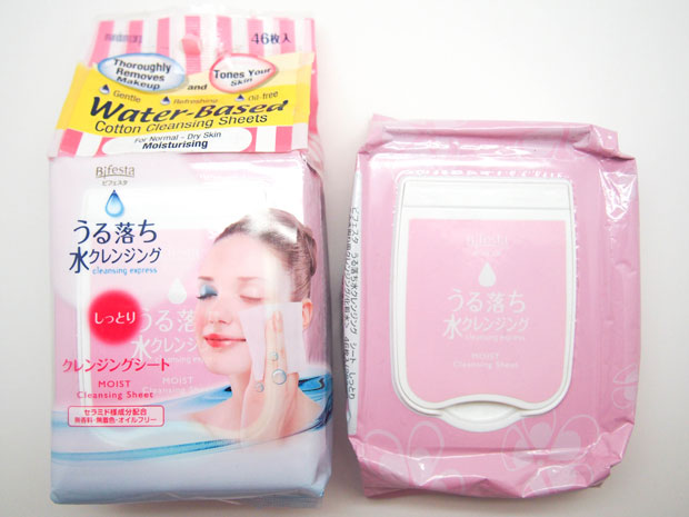 Bifesta-Water-Based-Cotton-Cleansing-Sheets
