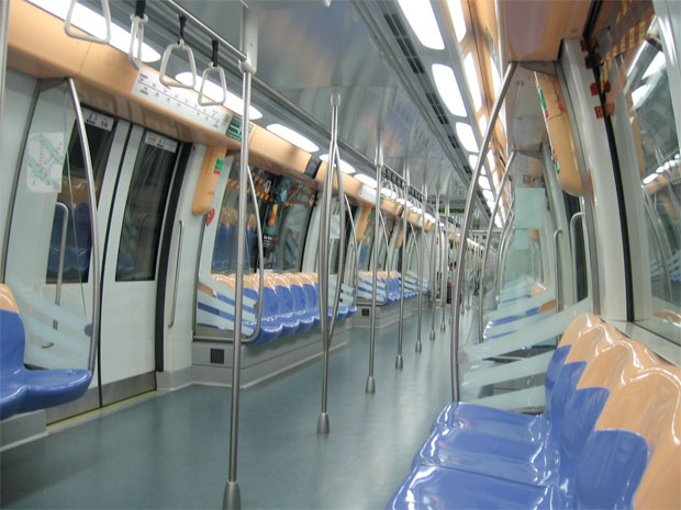 MRT-North-East-Line-Train-Seats