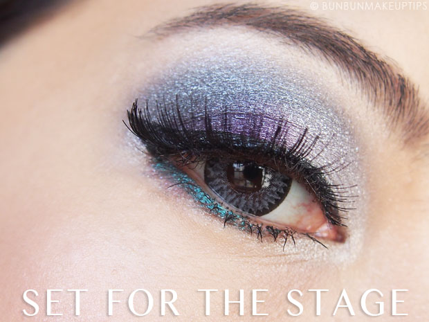 how to make a black eye with stage makeup