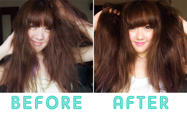 Kao-Essential-Sleeping-Hair-Mask-Leave-On-Serum-Review-Singapore_before-after-pictures-3
