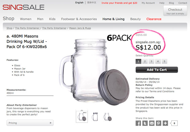 SINGSALE-Frenzy-Sale-2014-Blogger-Review_Mason-Jars-1.1