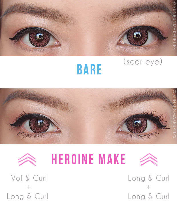 Heroine-Make-Long-Curl-Super-Waterproof-Mascara-Volume-Curl-Waterproof-Mascara-Review-Before-After-Comparison_1.1
