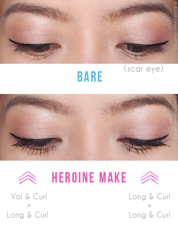 faf4c33b71e Heroine Make Reformulated Mascaras Take Lashes From Zero To Hero(ine) | Bun  Bun Makeup Tips and Beauty Product Reviews