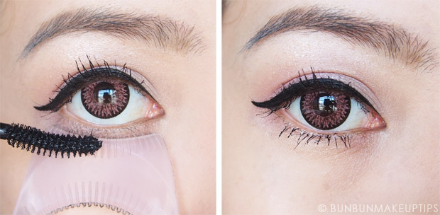 Heroine-Make-Long-Curl-Super-Waterproof-Mascara-Volume-Curl-Waterproof-Mascara-Review-Before-After-Photo-4