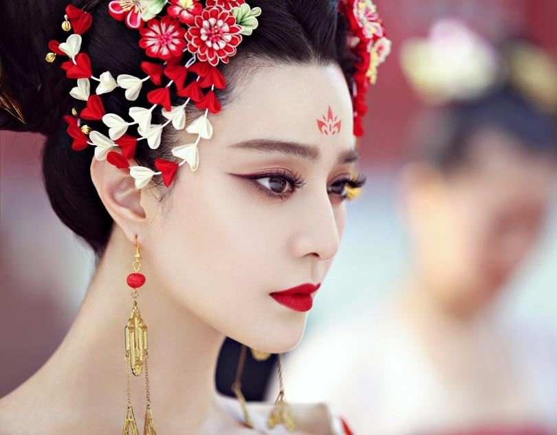 Empress of china makeup_1