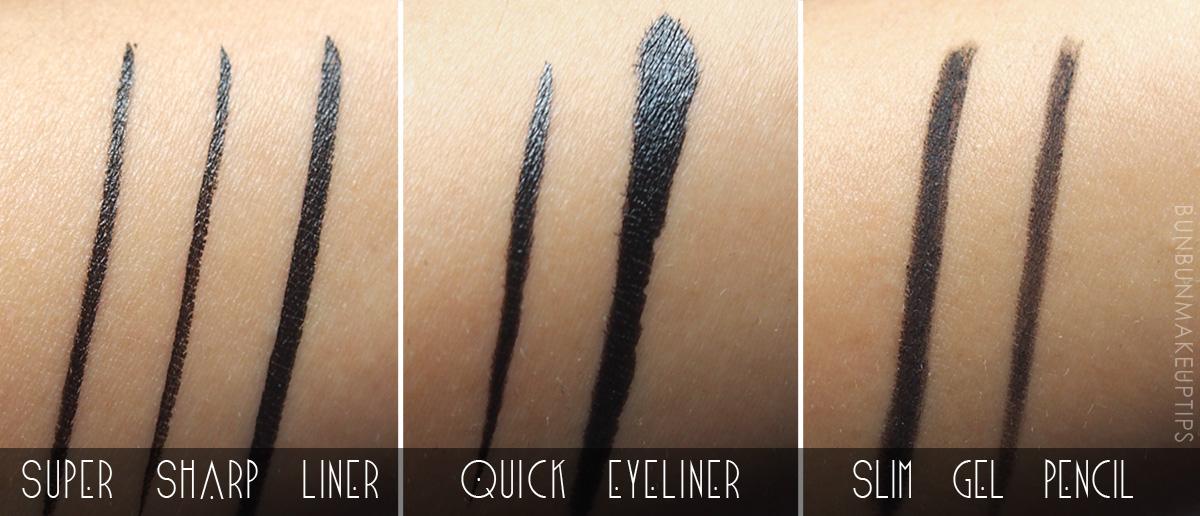 Kate-Super-Sharp-Liner,-Quick-Eyeliner,-Slim-Gel-Pencil-Review-Swatches_1